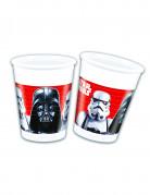 8 plastic Star Wars Final Battle™ bekers
