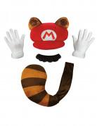 Nintendo® Mario Raccoon set voor volwassenen