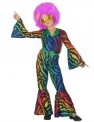 Luipaard disco kostuum voor meisjes