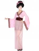 Roze Geisha kostuum voor dames