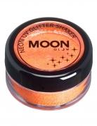 Oranje UV Moonglow© glitter poeder