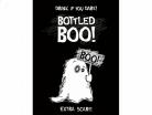 10 spook flessen stickers