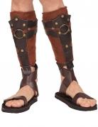 Romeinse soldaat scheenbeschermers voor volwassenen