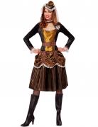 Steampunk barok prinses kostuum voor vrouwen