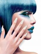 Zelfklevende nep nagels wit