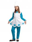 Blauw kabouter kostuum voor meisjes