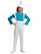 Blauwe kabouter kostuum voor kinderen