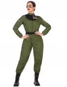 Militaire piloot kostuum voor vrouwen