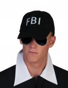 Zwarte FBI pet voor volwassenen
