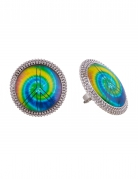 Veelkleurige hippie ring voor volwassenen
