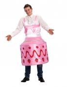 Aardbeientaart kostuum voor volwassenen