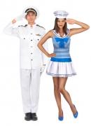 Kapitein en matroos koppelkostuum voor volwassenen