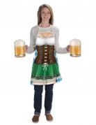 Lang Oktoberfest schort voor vrouwen