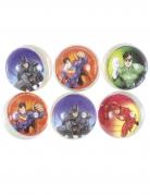 6 Justice League™ stuiterballen