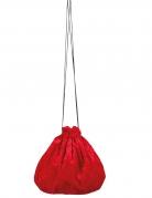 Rood fluweelachtig zakje