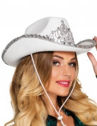 Witte cowboy prinses hoed voor vrouwen
