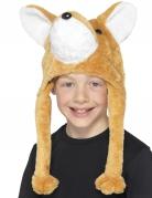 Pluche vos muts voor kinderen