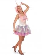 Roze eenhoorn kostuum met tutu voor vrouwen