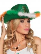 Ierse St Patrick cowboy hoed voor volwassenen