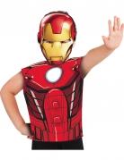 Iron Man™ t-shirt en masker voor kinderen