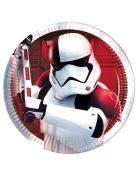 8 kartonnen bordjes Star Wars 8 The Last Jedi™