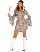 Kleurrijk hippiekostuum voor vrouwen