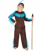 Bruin indianen kostuum voor jongens