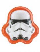 8 kartonnen bordjes Stormtrooper™