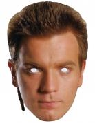 Kartonnen Obi Wan Kenobi™ masker