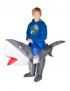 Opblaasbare haai kostuum voor kinderen