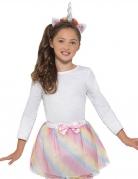 Veelkleurige pastel eenhoorn set voor meisjes