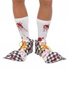 Bloedvlekken clown overschoenen voor volwassenen