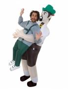 Morphsuits Beiers carry me kostuum voor volwassenen