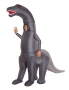 Opblaasbaar Morphsuits™ dinosaurus kostuum voor kinderen