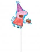 Kleine aluminium Peppa Pig™ ballon