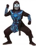 Cyber ninja kostuum met licht en geluid voor kinderen