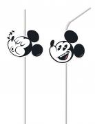 6 retro Mickey™ rietjes