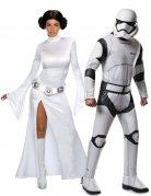 Koppelkostuum Star Wars™ Prinses Leia en Stormtrooper