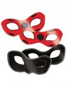 8 kartonnen Ladybug™ maskers