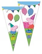 10 Peppa Pig™ feestzakjes