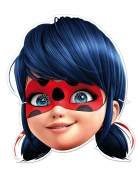 6 kartonnen Ladybug™ maskers