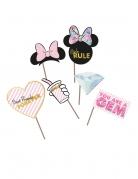 6 premium Minnie™ photobooth accessoires