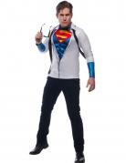 Superman™ t-shirt met stropdas voor volwassenen