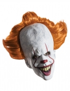 Deluxe latex It™ masker met pruik voor volwassenen
