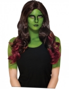 Guardians of the Galaxy 2™ Gamora pruik voor volwassenen