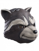 Deluxe latex Guardians of the Galaxy 2™ Rocket Raccoon masker voor volwassenen