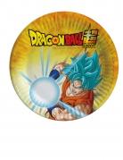8 kleine kartonnen bordjes Dragon Ball Super™