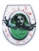 Spookvrouw wc sticker