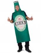 Groen bierfles kostuum voor volwassenen
