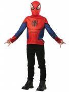 Spiderman™ t-shirt met muts voor kinderen